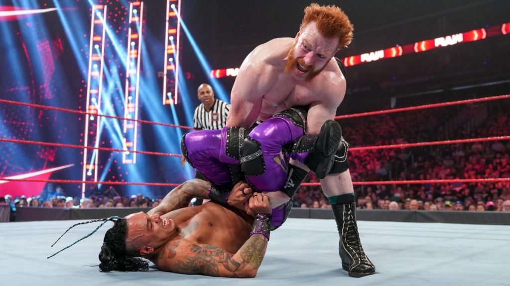Sheamus and Damian Priest