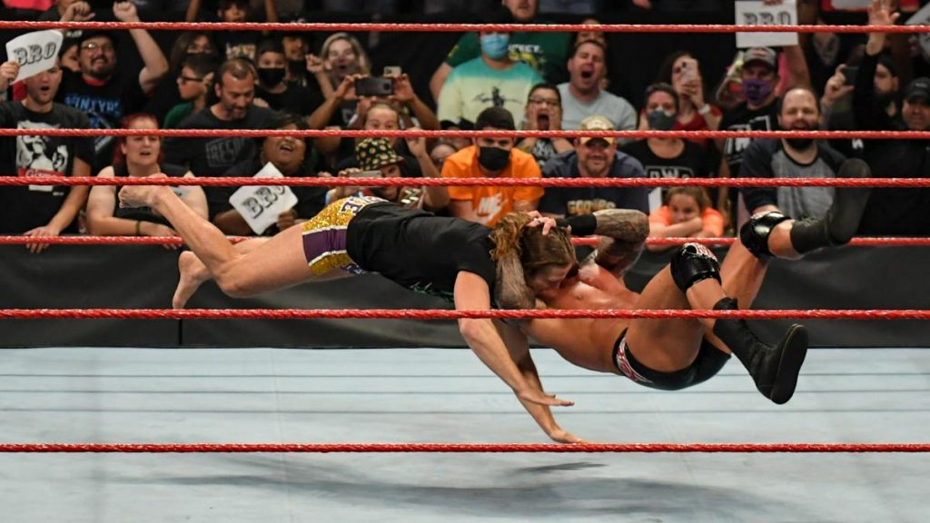 Randy Orton finally RKOs Riddle