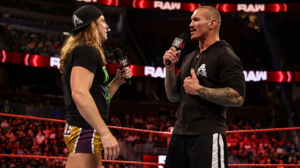 Riddle and Randy Orton