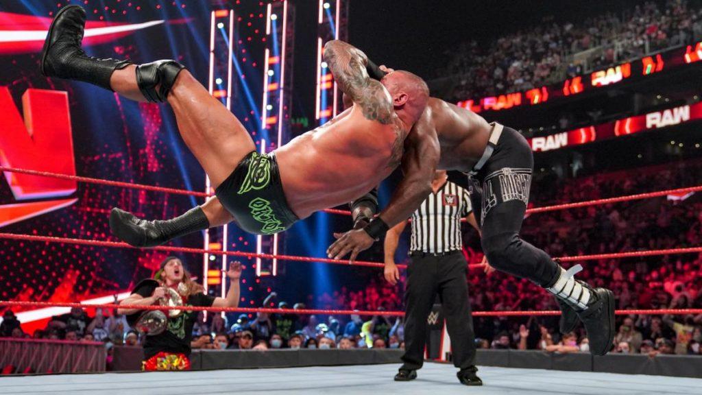 Randy Orton RKO's Bobby Lashley