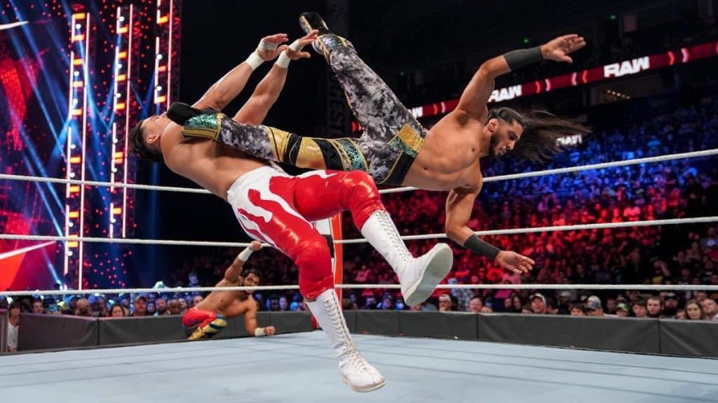 Mustafa Ali takes down Angel Garza
