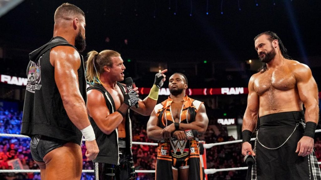 Dolph Ziggler and Robert Roode talk at Big E and Drew McIntyre